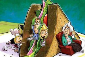 """""""New Sandwich Generation"""" Bertahan dalam Masa Pandemi"""