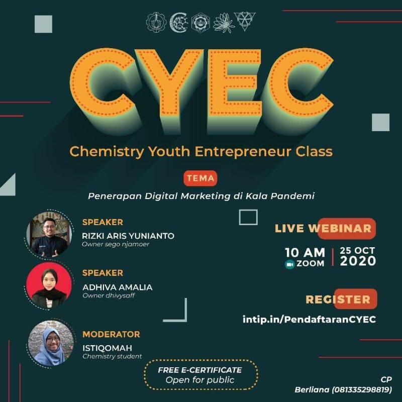 CHEMISTRY YOUTH ENTERPRENEUR CLASS