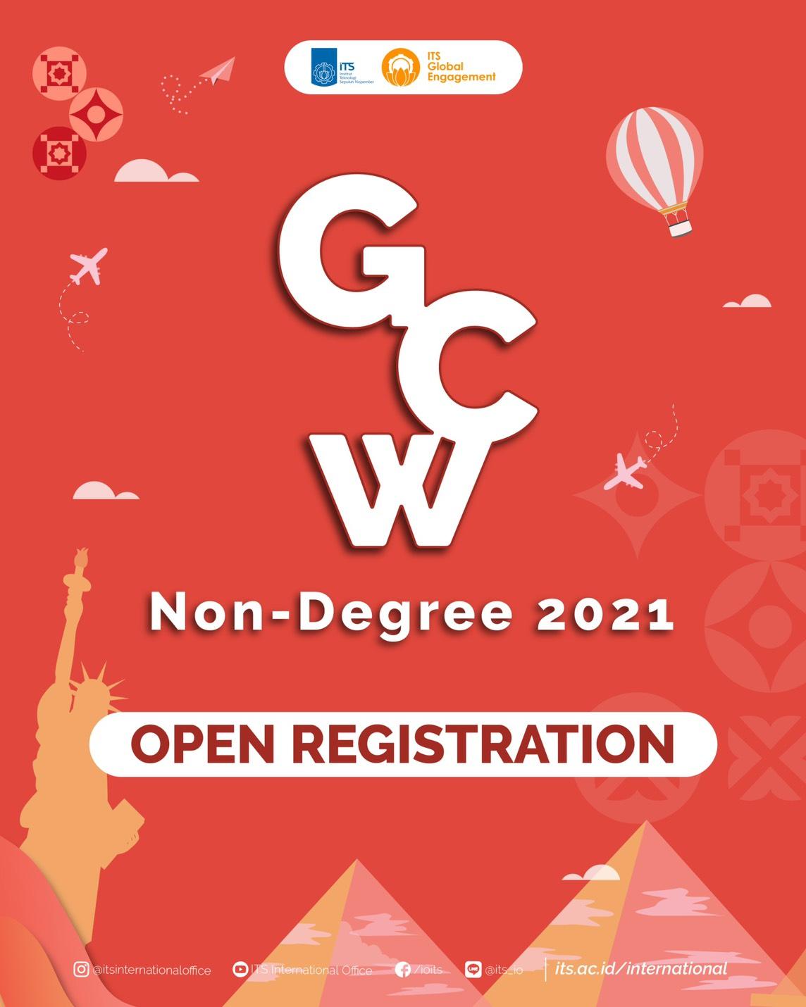 [GCW Non Degree 2021 Open Registration]