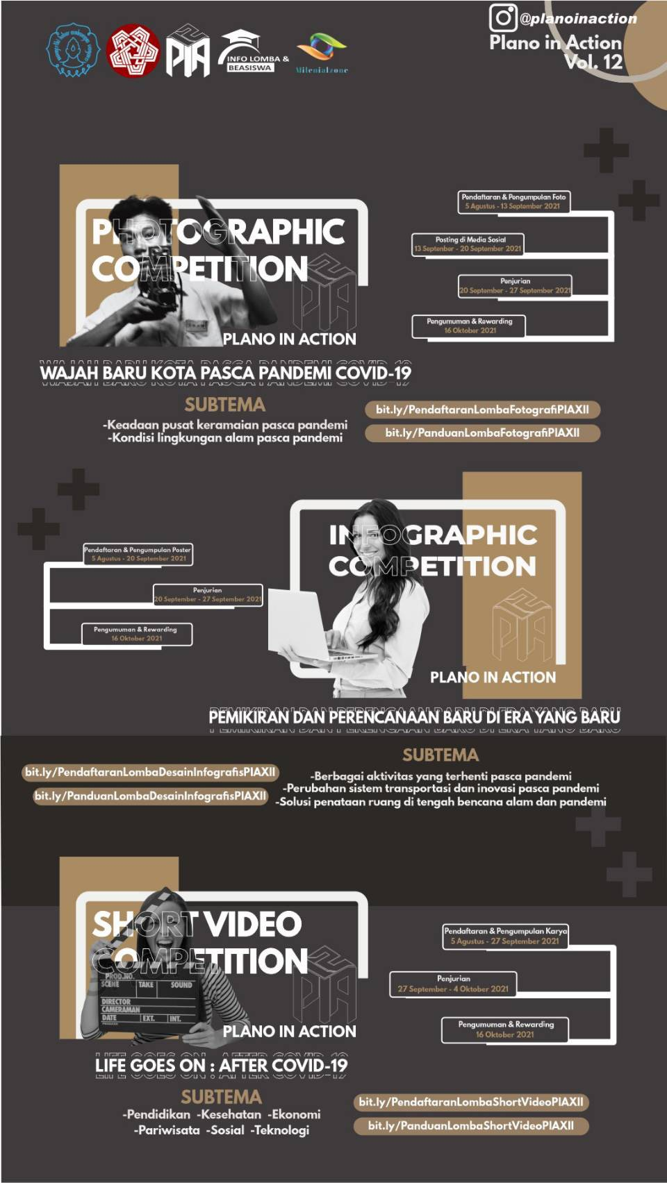✨PLANO IN ACTION VOL. 12 BY HMPWK UNS PROUDLY PRESENTS✨