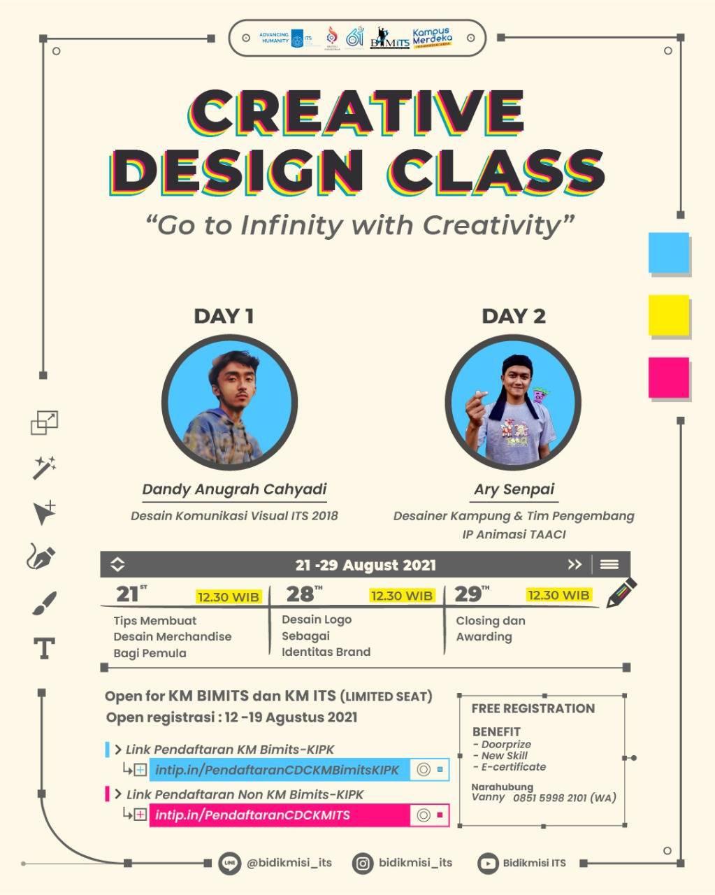 [CREATIVE DESIGN CLASS]
