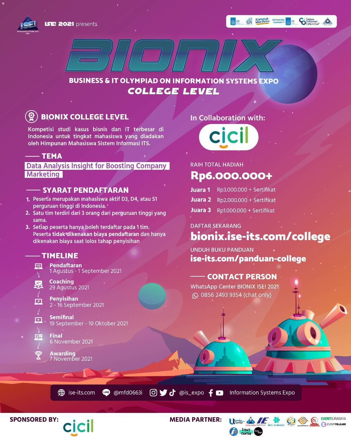 [BUSINESS IT CASE COMPETITION BY BIONIX]