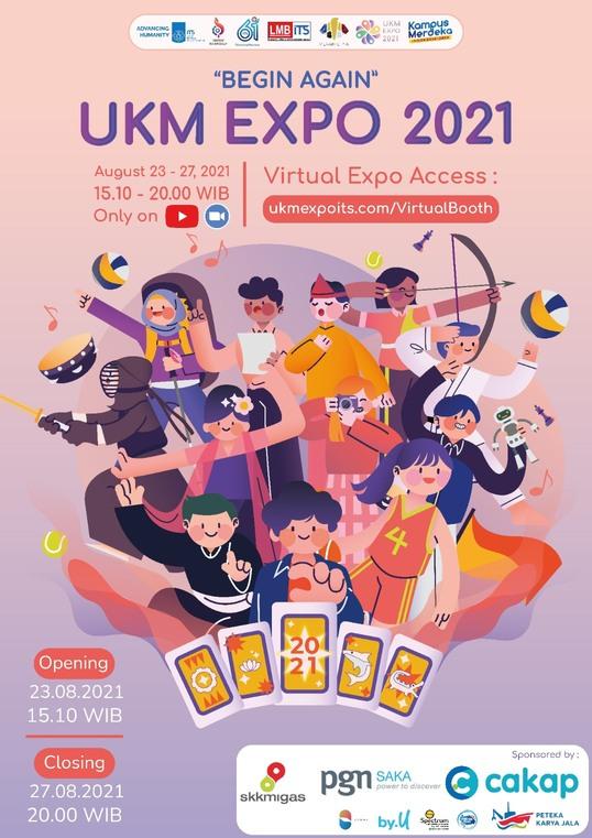 [UKM EXPO 2021 : BEGIN AGAIN]
