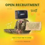 Open Recruitment Staff SRE ITS 2021/2022