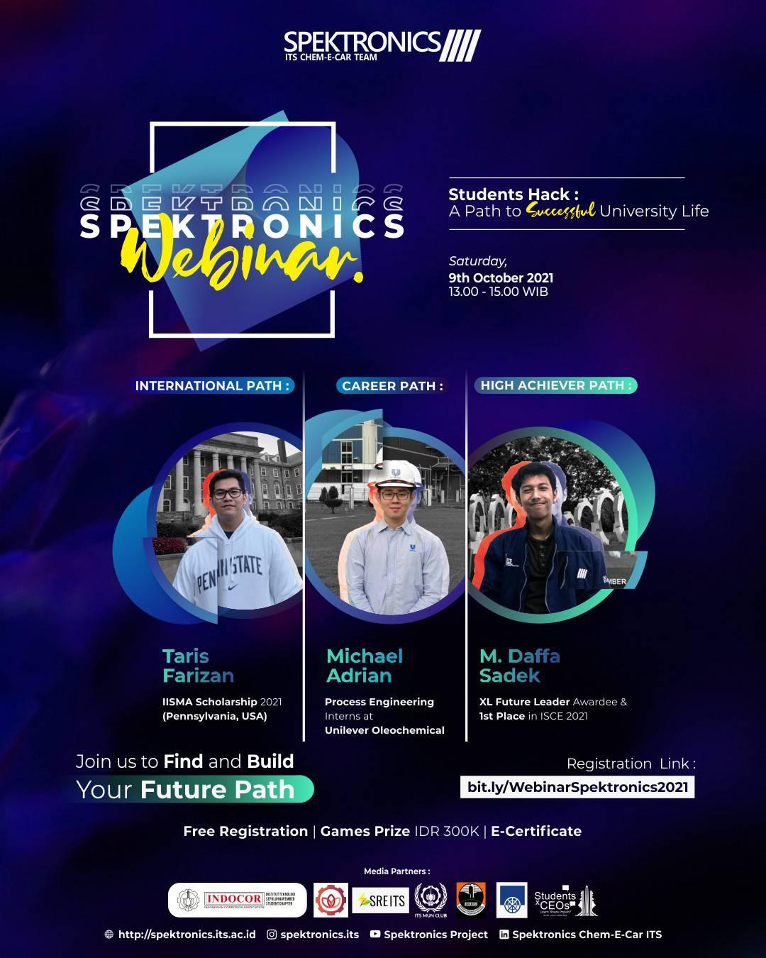 Spectronics Webinar 2021